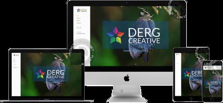 Derg Creative - Responsive Web Design